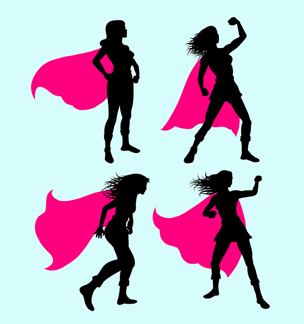 Why I get it all done always - Superhero Super Hero Girl Costume  - comicvector / Pixabay